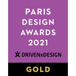 EDGE got a Gold Award in Paris Design Awards 2021