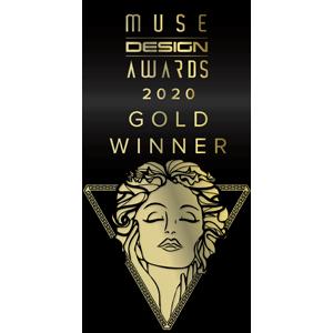 EDGE got a Gold Award in MUSE Design Awards 2020