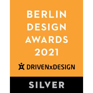 EDGE got a Silver Award in Berlin Design Awards 2021