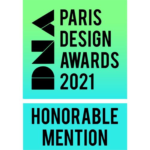 EDGE got Honorable Mention in DNA Paris Design Awards 2021