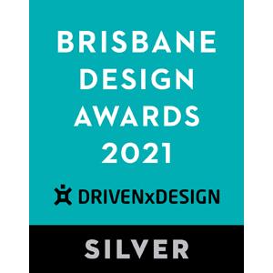 EDGE got a Silver Award in Brisbane Design Awards 2021