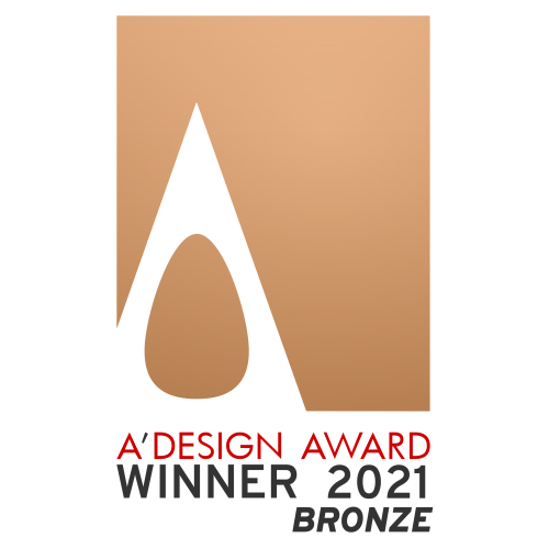 EDGE got Bronze Award in A'Design Awards 2021