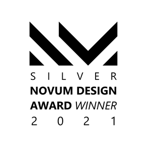 EDGE got Silver Award in Novum Design Awards 2021