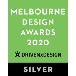 EDGE got a Silver Award in Melbourne Design Awards 2020