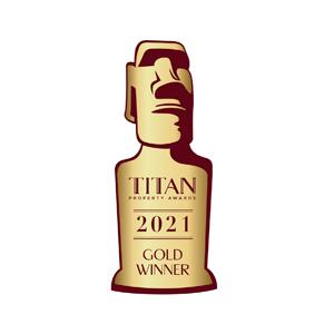 藝捷設計榮獲Titan Property Awards 2021頒授金獎