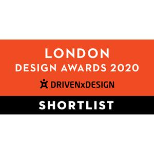 藝捷設計榮獲倫敦設計獎2020 - 入圍獎