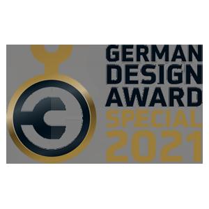 藝捷設計榮獲德國設計獎2021 Special Mention獎