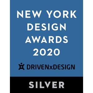 藝捷設計榮獲紐約設計獎2020 - 銀獎