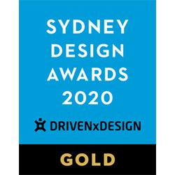 藝捷設計榮獲悉尼設計獎2020 - 金獎