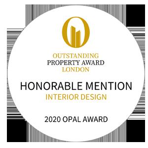 藝捷設計榮獲Outstanding Property Award London 2020 - 優異獎