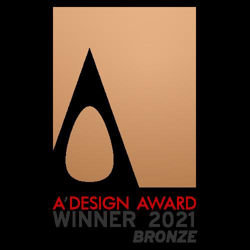藝捷設計榮獲A'Design Awards 2021頒授銅獎